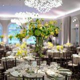 Wedding set up in the Garden Terrace Room, STARR