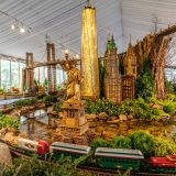 Photo of the midtown collection in the Holiday Train Show