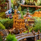 Photo of Central Park architecture in the Holiday Train Show