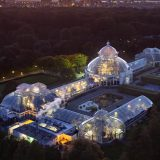 An aerial view of the Conservatory.