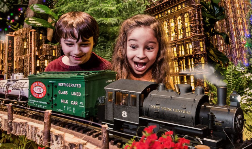 The Holiday Train Show® at The New York Botanical Garden