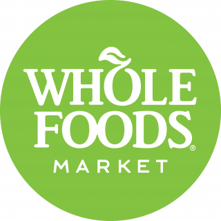 The round, green Whole Foods Market logo.