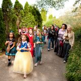 Halloween Parade in the Garden
