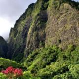 A mountain range in Hawaii