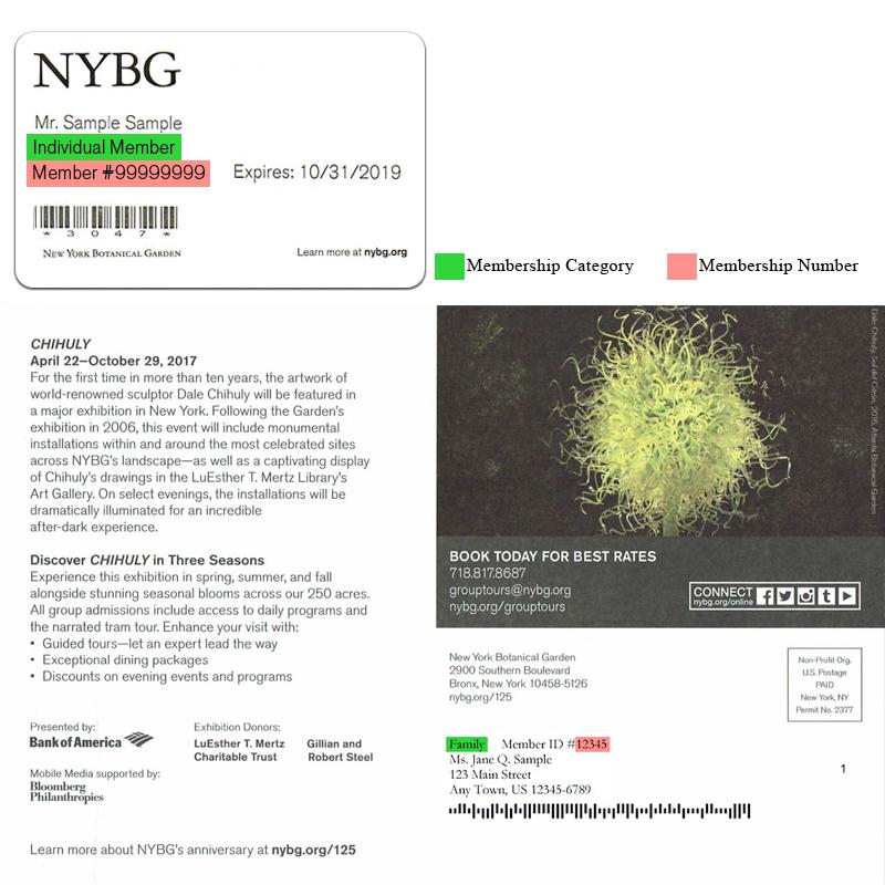 Member patron tickets new york botanical garden - New york botanical garden tickets ...