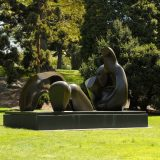 Image of Henry Moore sculpture in the Garden landscape