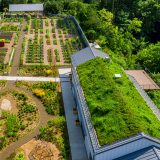 Aerial view of the Edible Academy