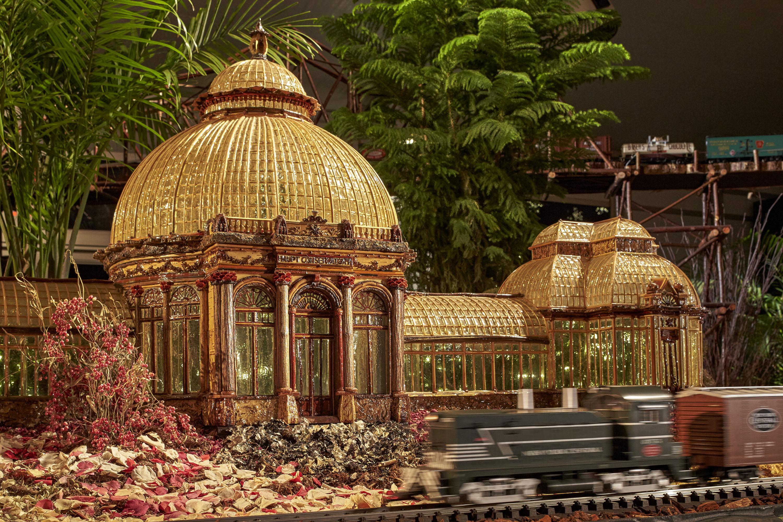 Holiday Train Show Press Room New York Botanical Garden