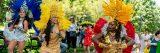 Photo of samba dancers