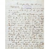 Letter written by John Torrey