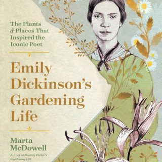 Photo of the cover of Emily Dickinson's Gardening Life