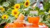Photo of a honey jar