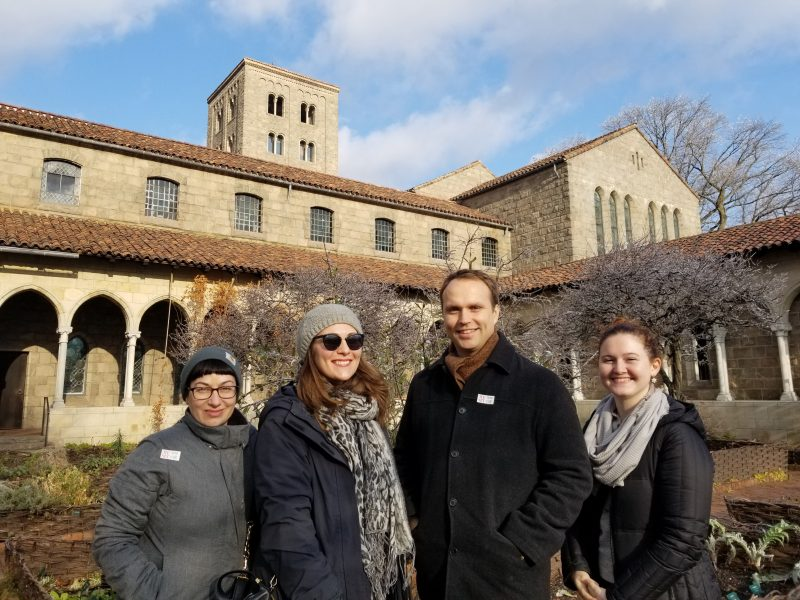 Photo of Cloisters visit