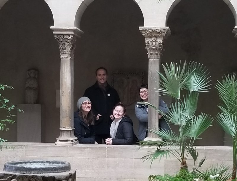 Photo of the Cloisters trip