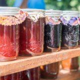 Seasonal berry jam