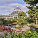 Photo of the Conservatory in Fall