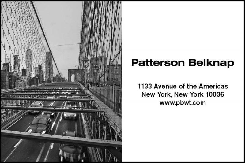 Patterson Belknap Ad