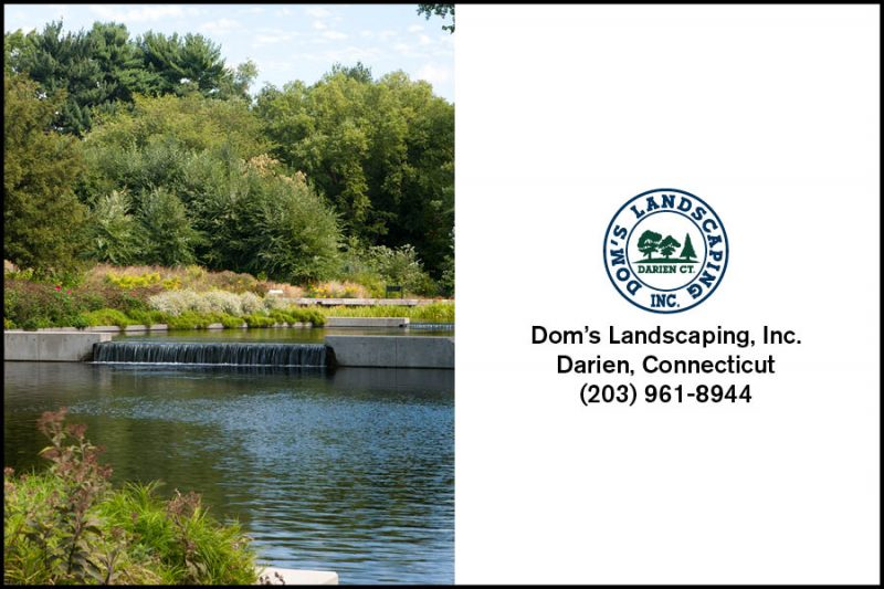 Dom's Landscaping Ad