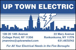 Up Town Electric Ad