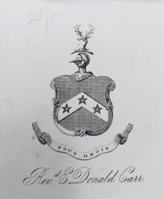 Photo of carr's coat of arms