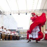 Dance performance of the Bomba