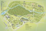 A map of the New York Botanical Garden