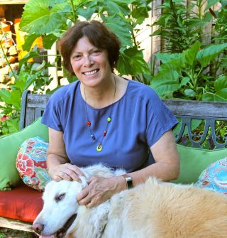 Photo of Barbara M. Thiers with her dog