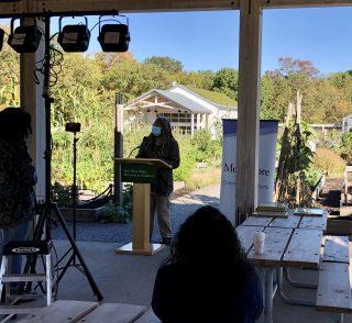 Photo of Karen Washington at the Edible Academy