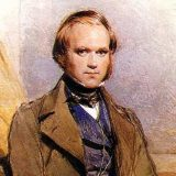 Painting of a young Charles Darwin