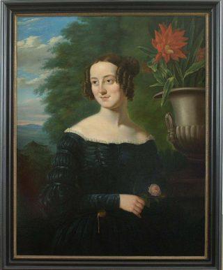 Painting of Berthe Hoola van Nooten