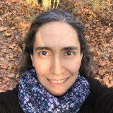 Photo of Alejandra Vasco in the forest