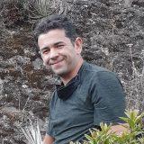 Photo of Julian Aguirre-Santoro in the field