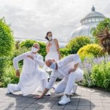 Photo of three dancers posted from BAAD