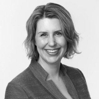 Black and white headshot of Jennifer Bernstein