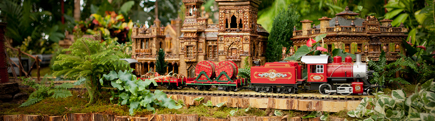 Holiday Train Show Nybg