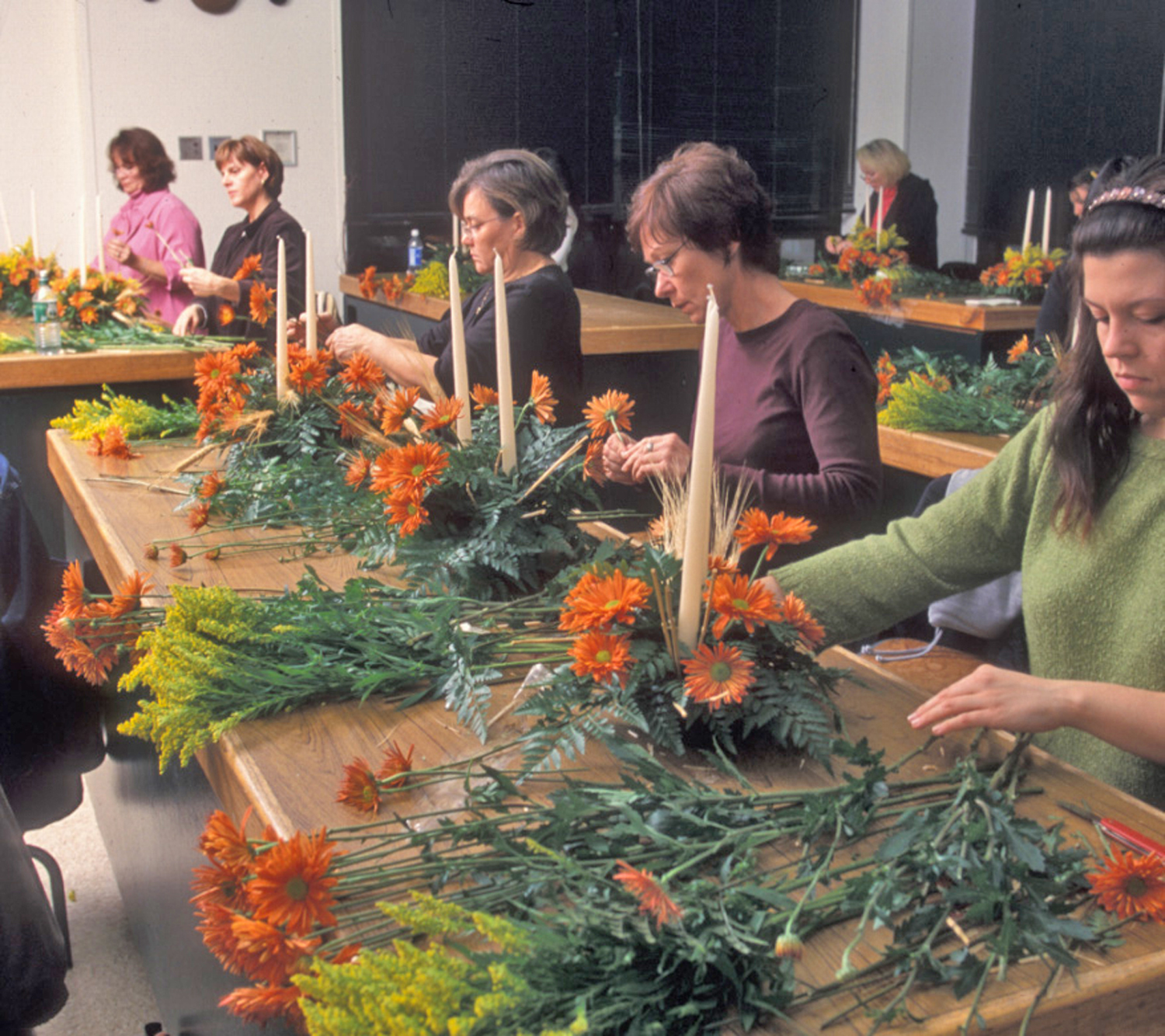 adult education floristry