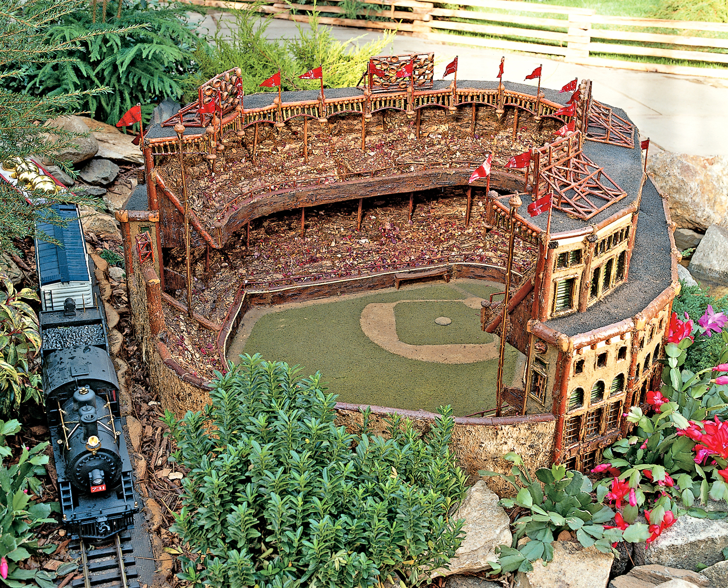 The new york botanical garden for New york botanical gardens train show